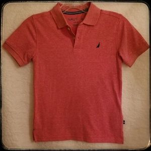 Nautica*Boys Red Polo Shirt